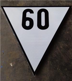 非洲反光标示牌制作