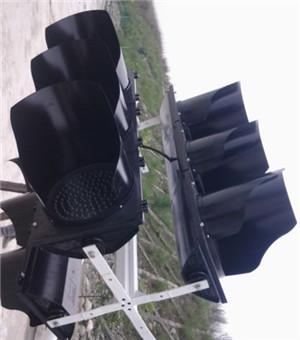城市道路信号灯安装